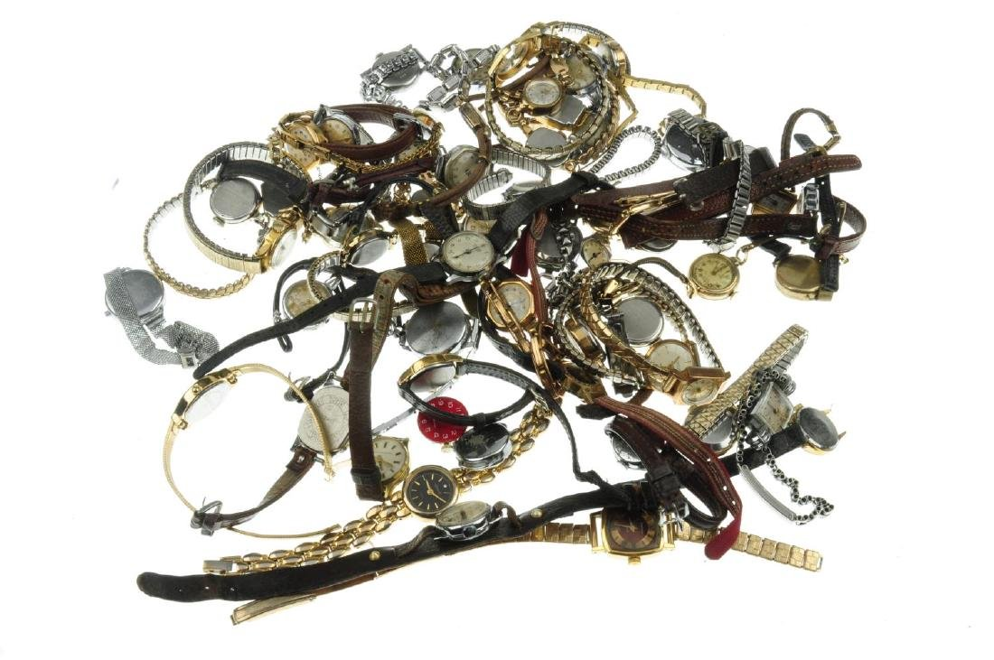 A bag of assorted lady's watches, mainly mechanical - 2