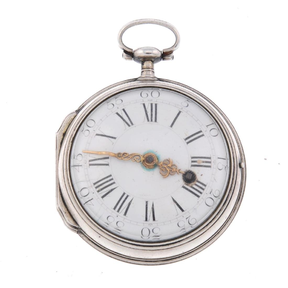 An open face pocket watch by Preudhome and Raymond.