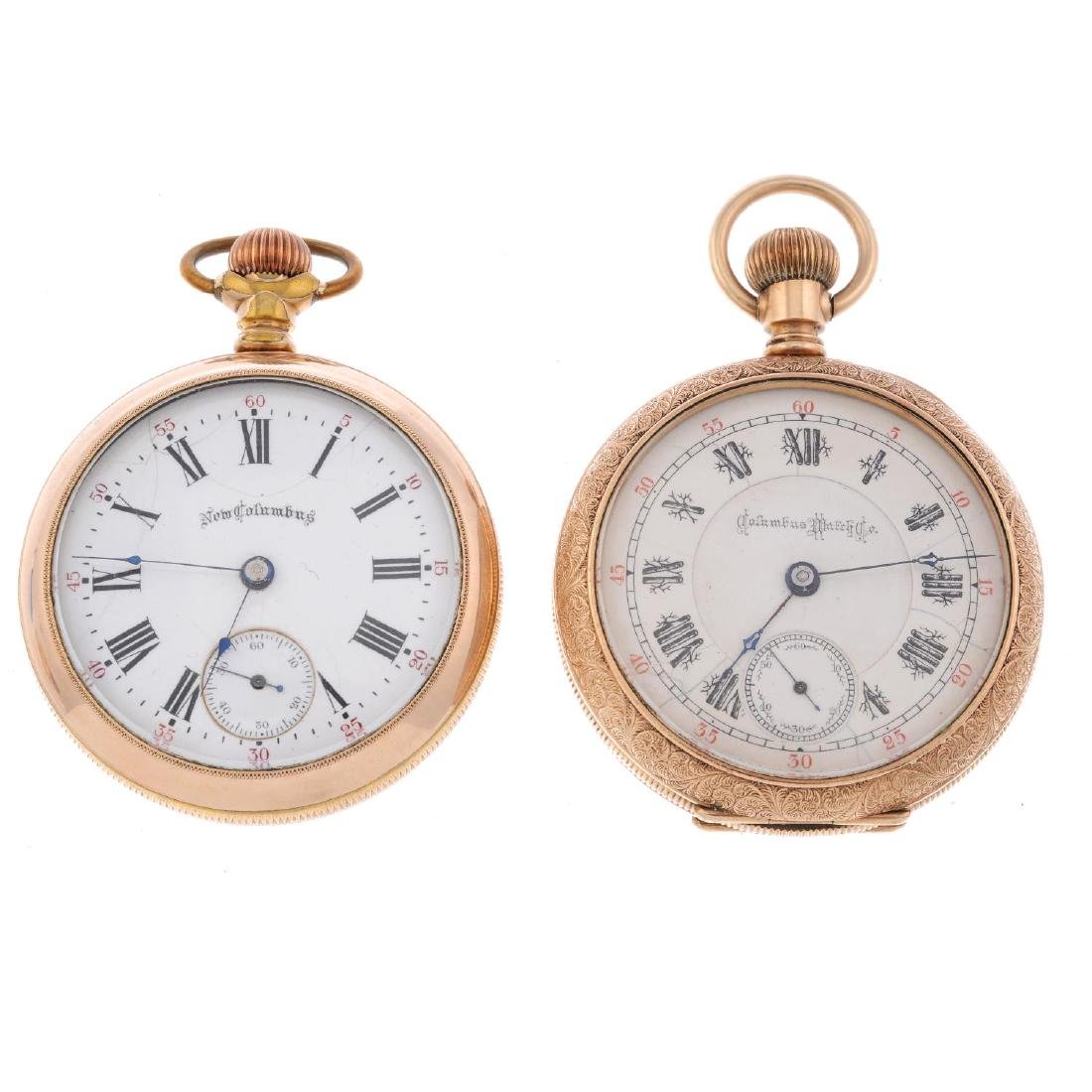A group of four assorted pocket watches, to include an