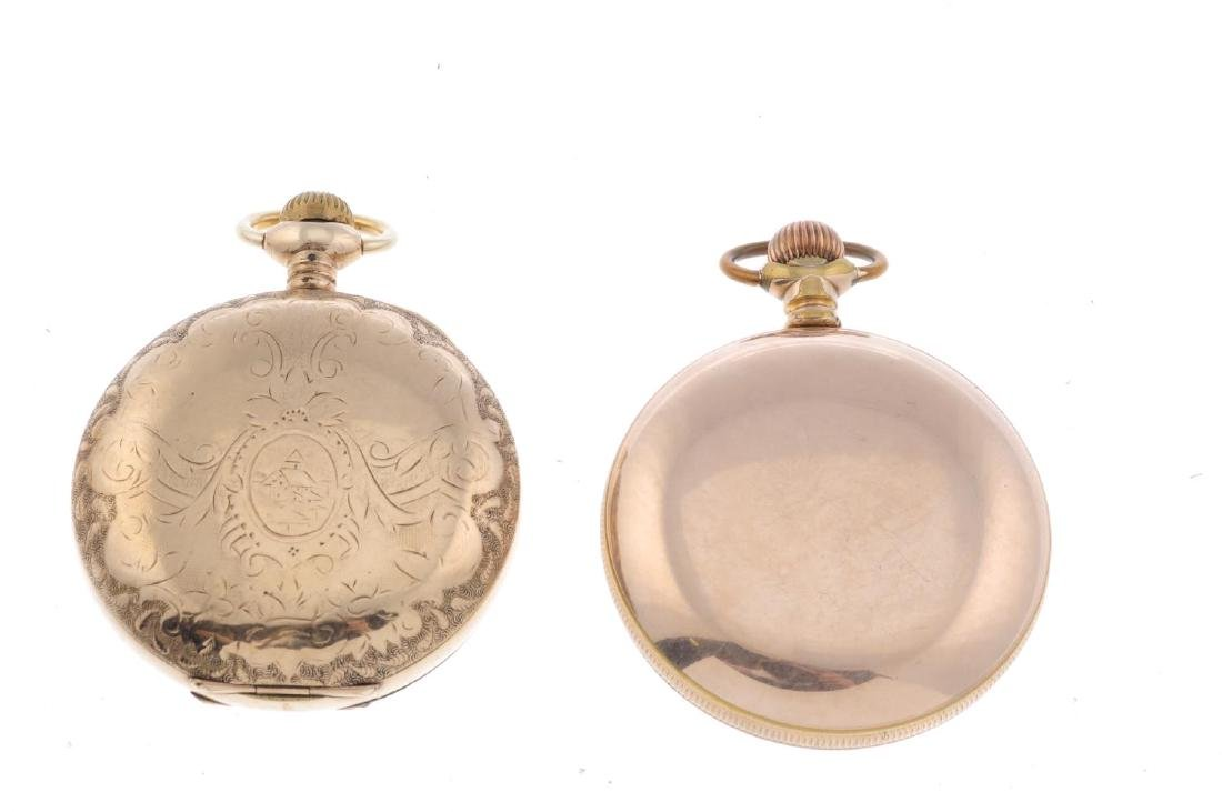 A group of four assorted pocket watches, to include an - 4