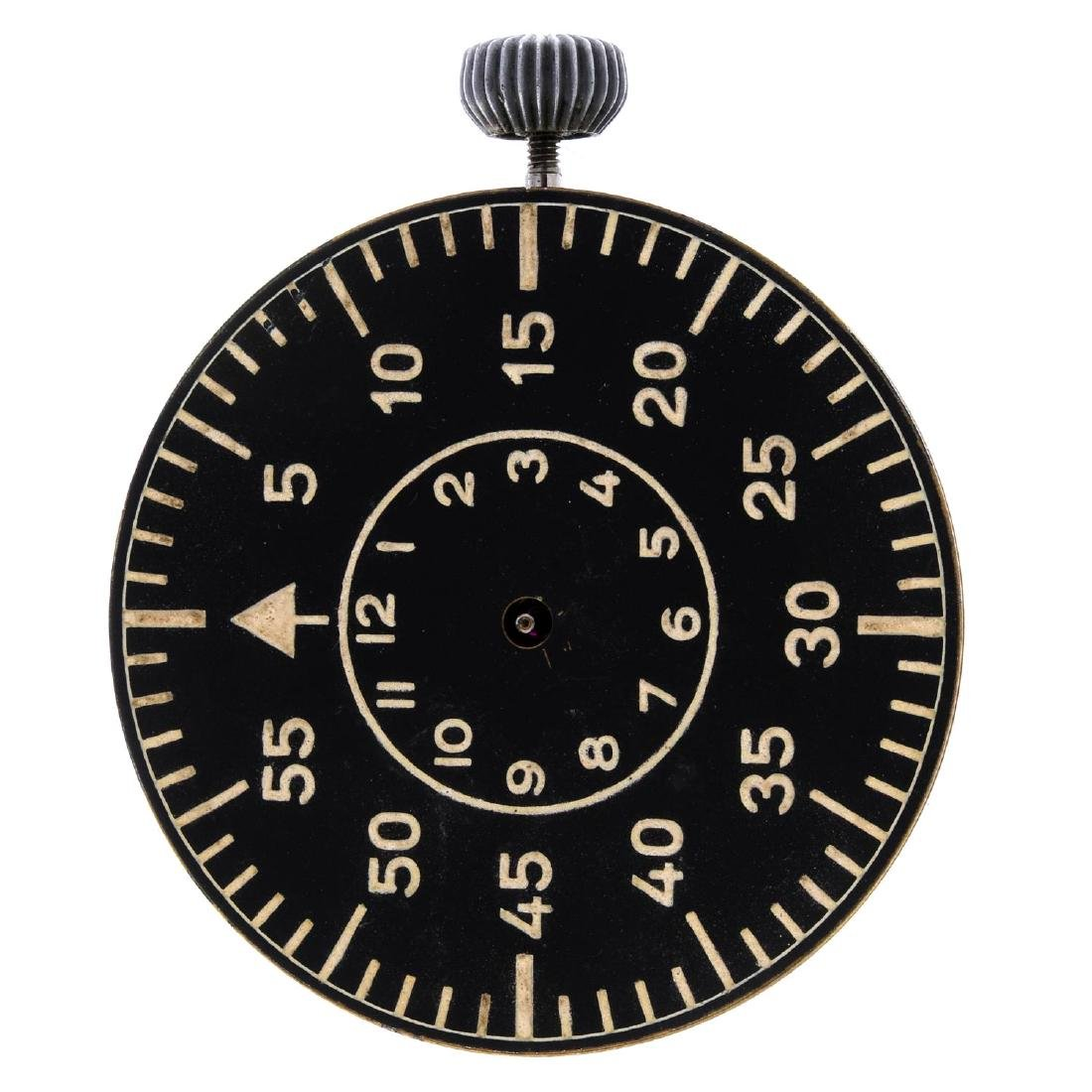 LACO - a WW2 Navigation watch movement. Numbered 02210.