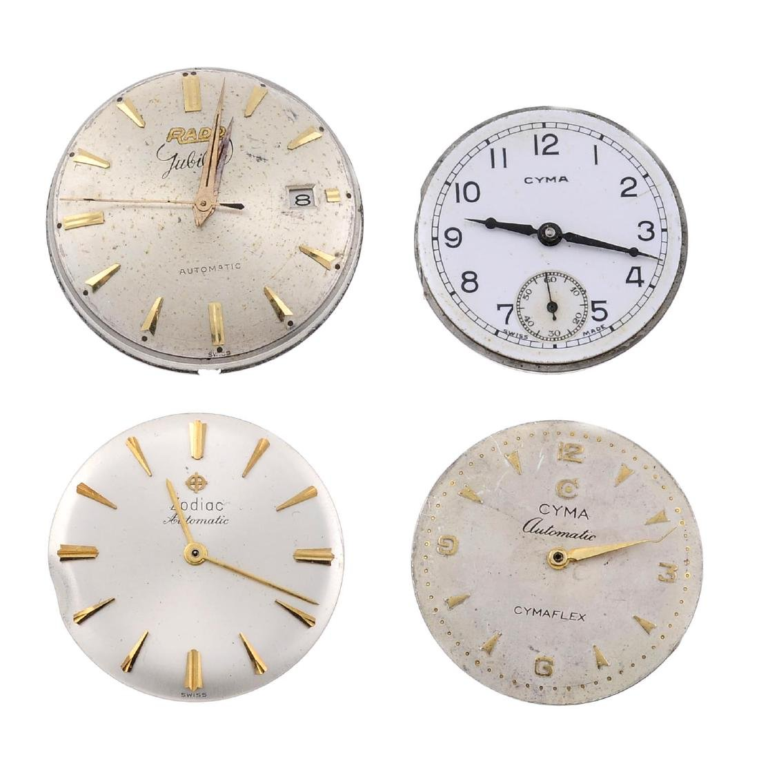 A group of twelve assorted watch movements, to include