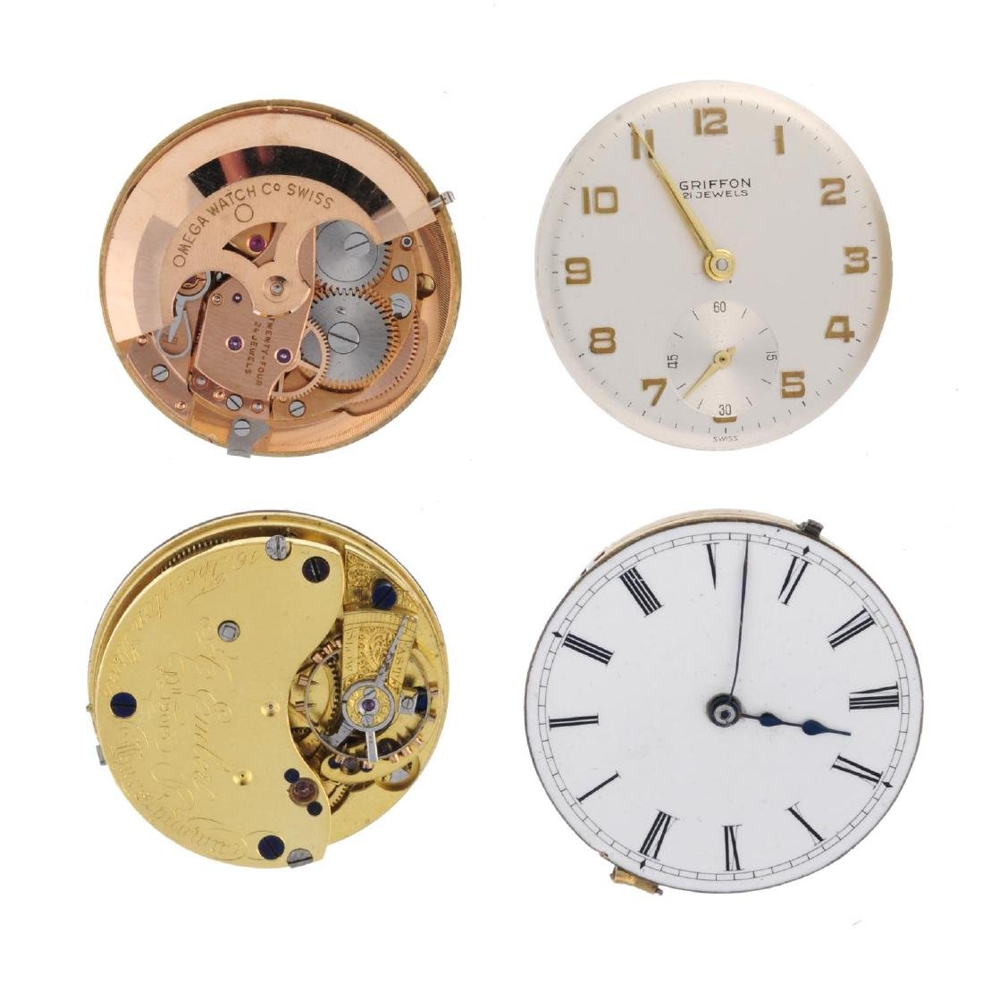 A group of assorted watch movements, to include an