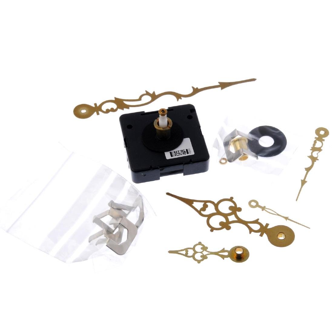 A quantity of assorted clock and watch parts.