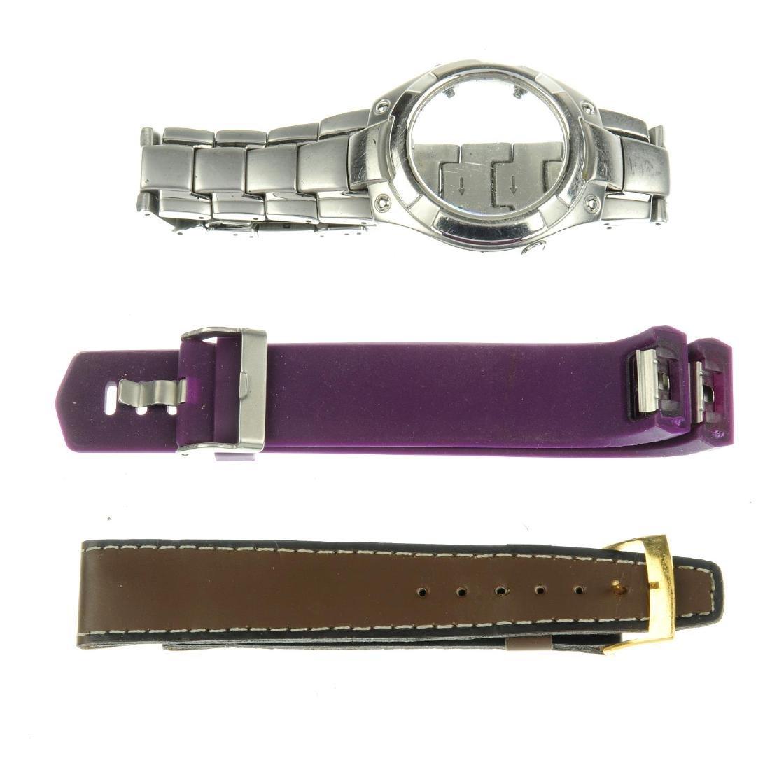 A bag of assorted watch bracelets, bracelet links and