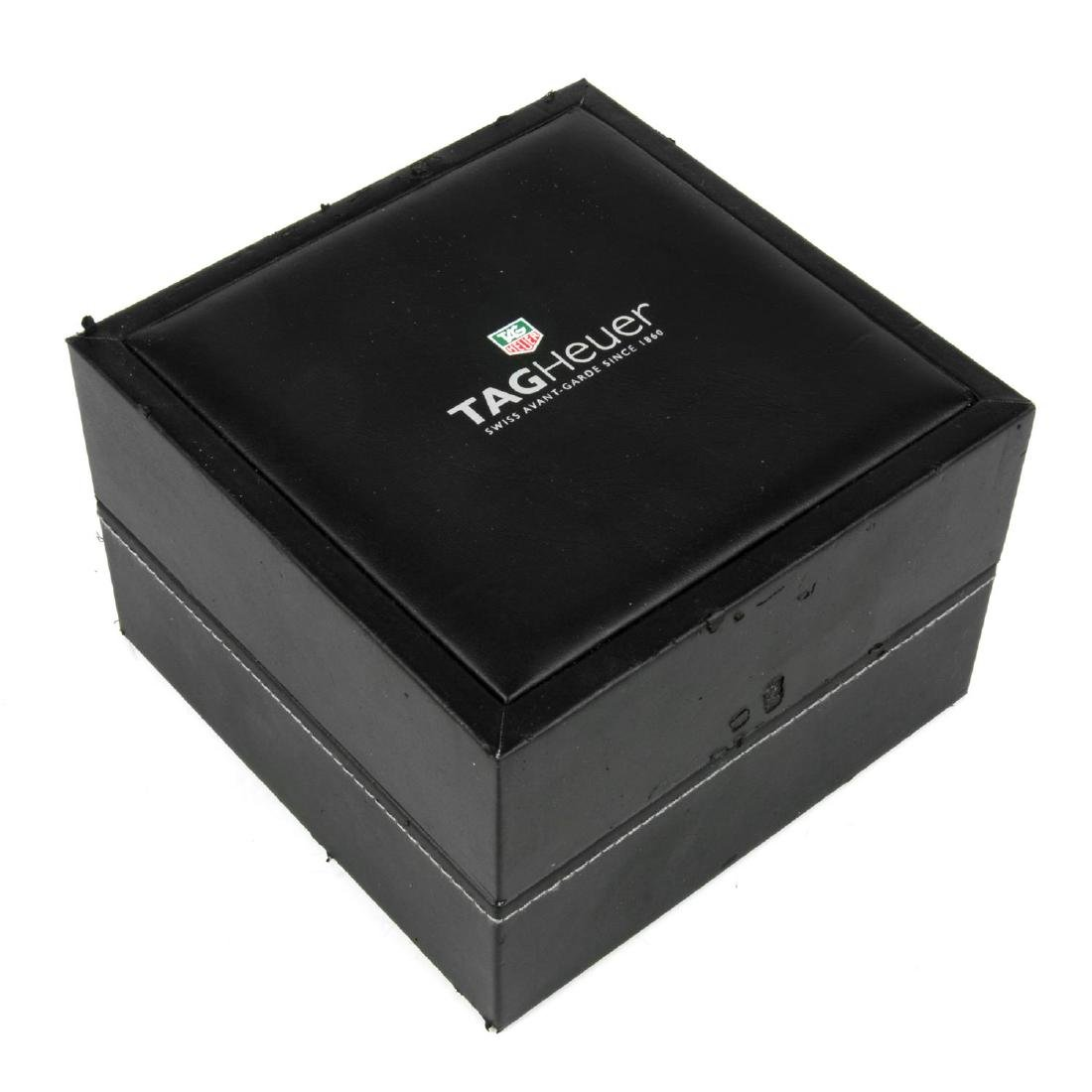 TAG HEUER - a group of six watch boxes, some
