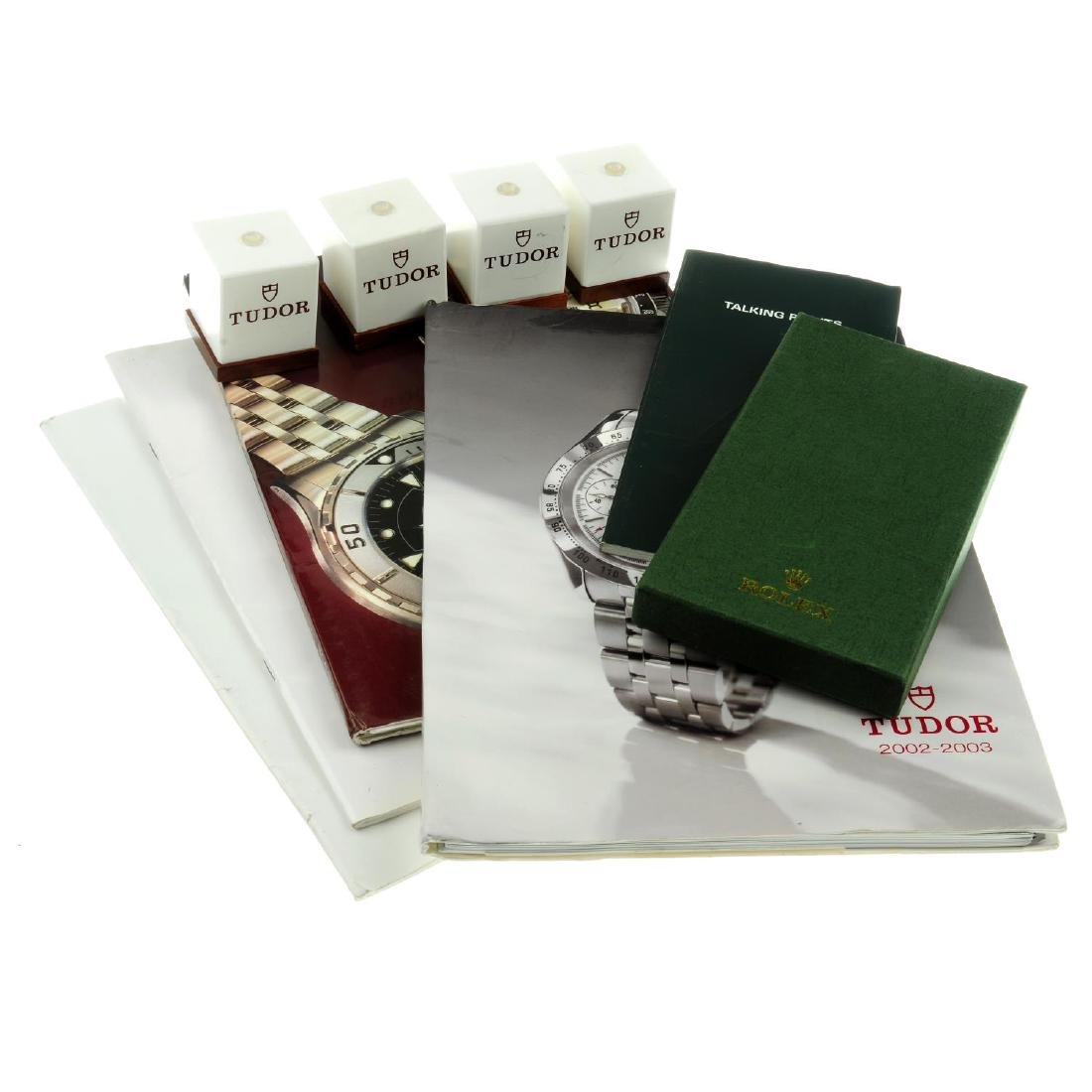 A group of price list books by Rolex and Tudor together