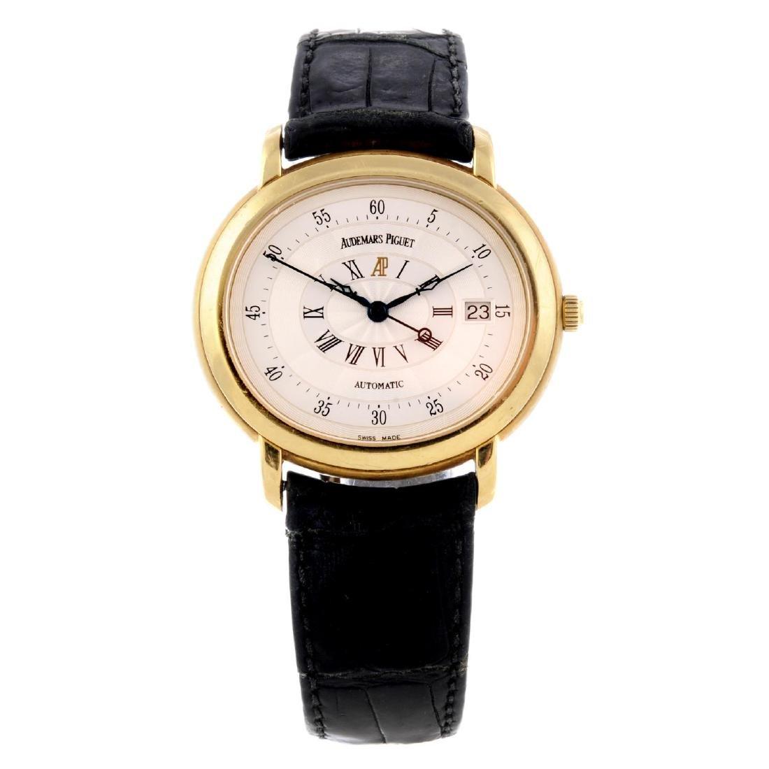 AUDEMARS PIGUET - a gentleman's Millenary wrist watch.