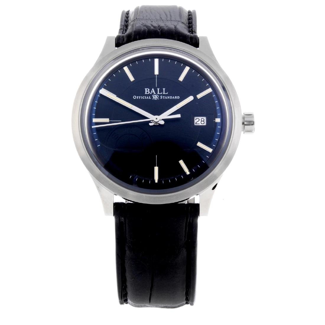 BALL - a gentleman's 'BMW Classic' wrist watch.