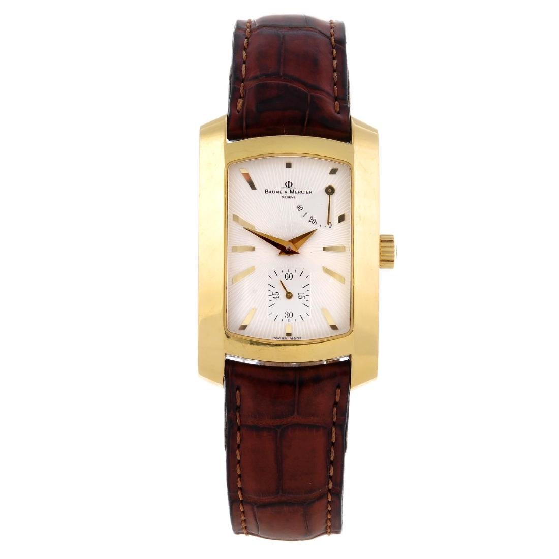 BAUME & MERCIER - a gentleman's Hampton Milleis wrist