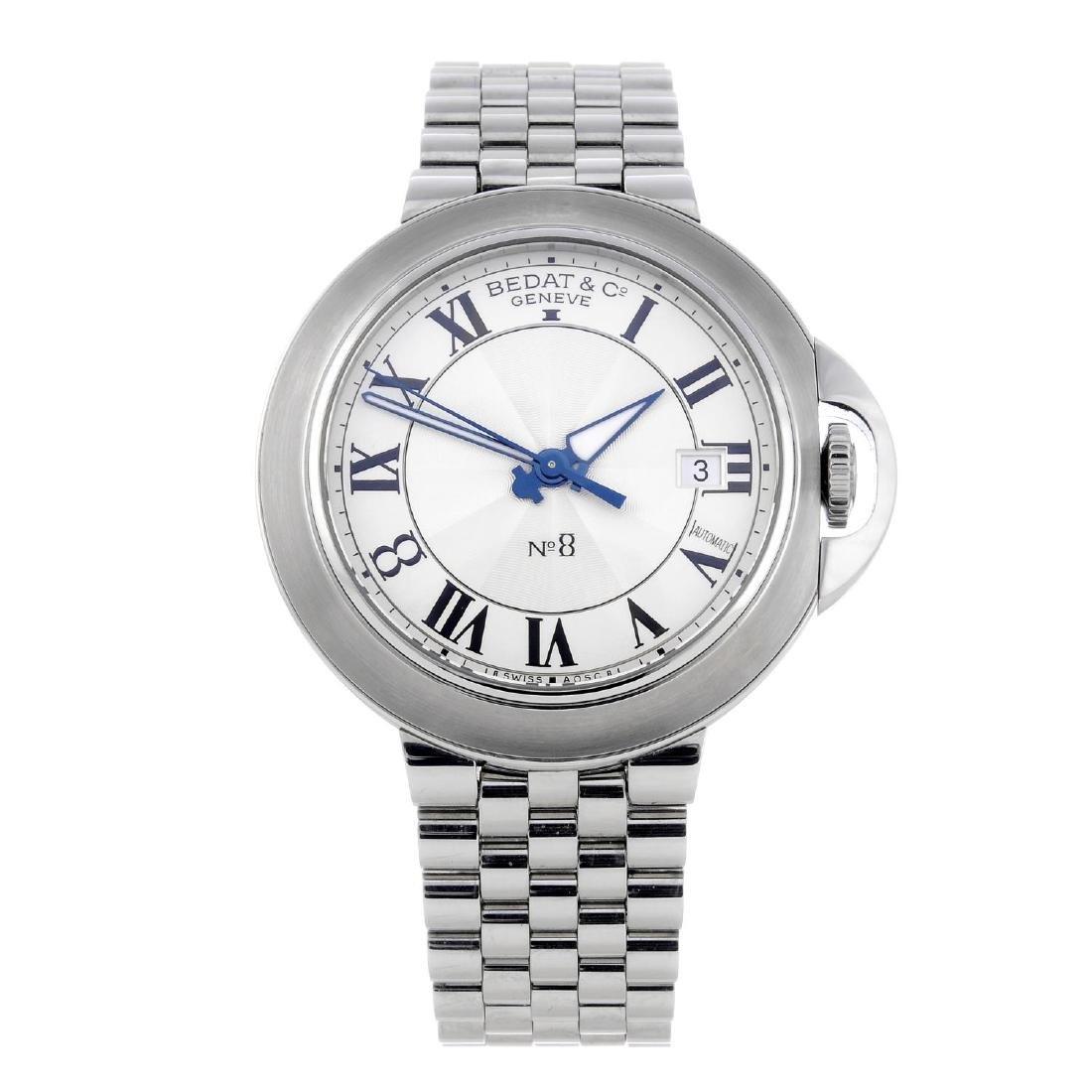BEDAT & CO. - a gentleman's No. 8 bracelet watch.