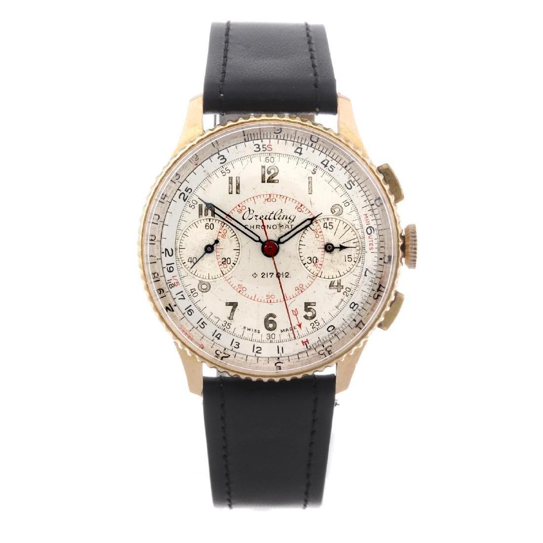 BREITLING - a gentleman's Chronomat chronograph wrist