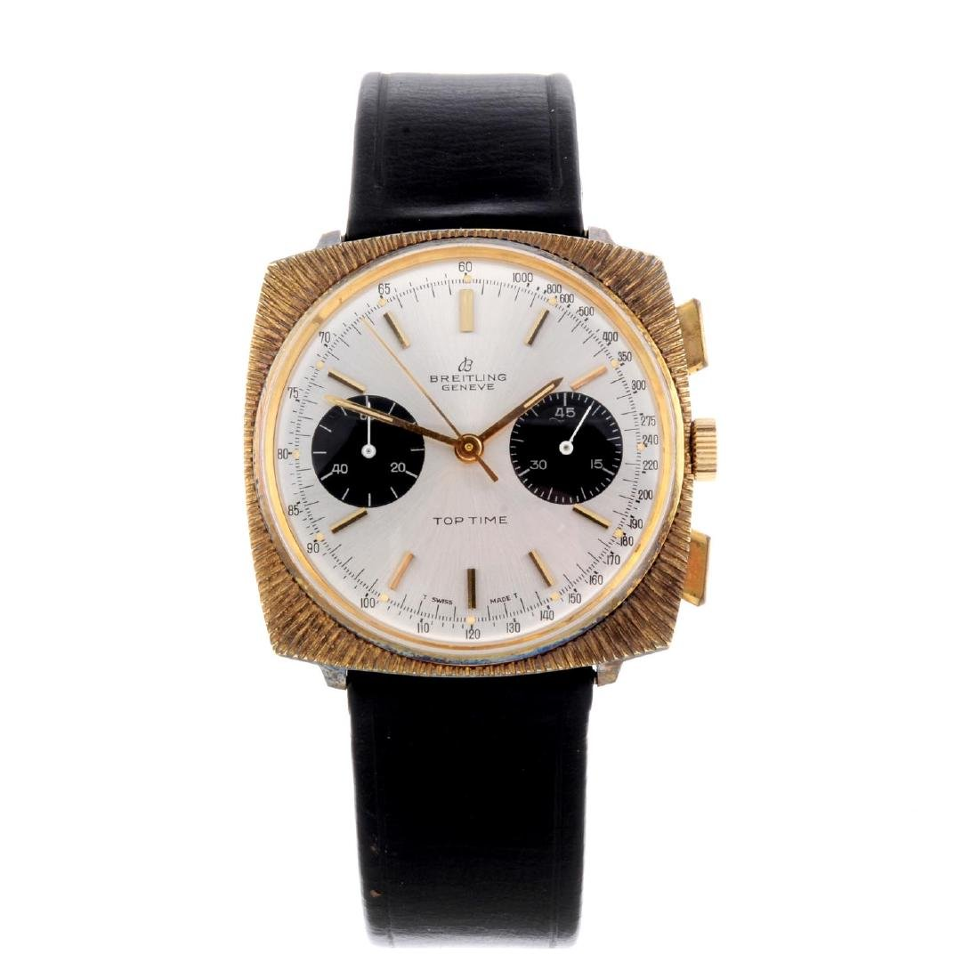BREITLING - a gentleman's Top Time chronograph wrist