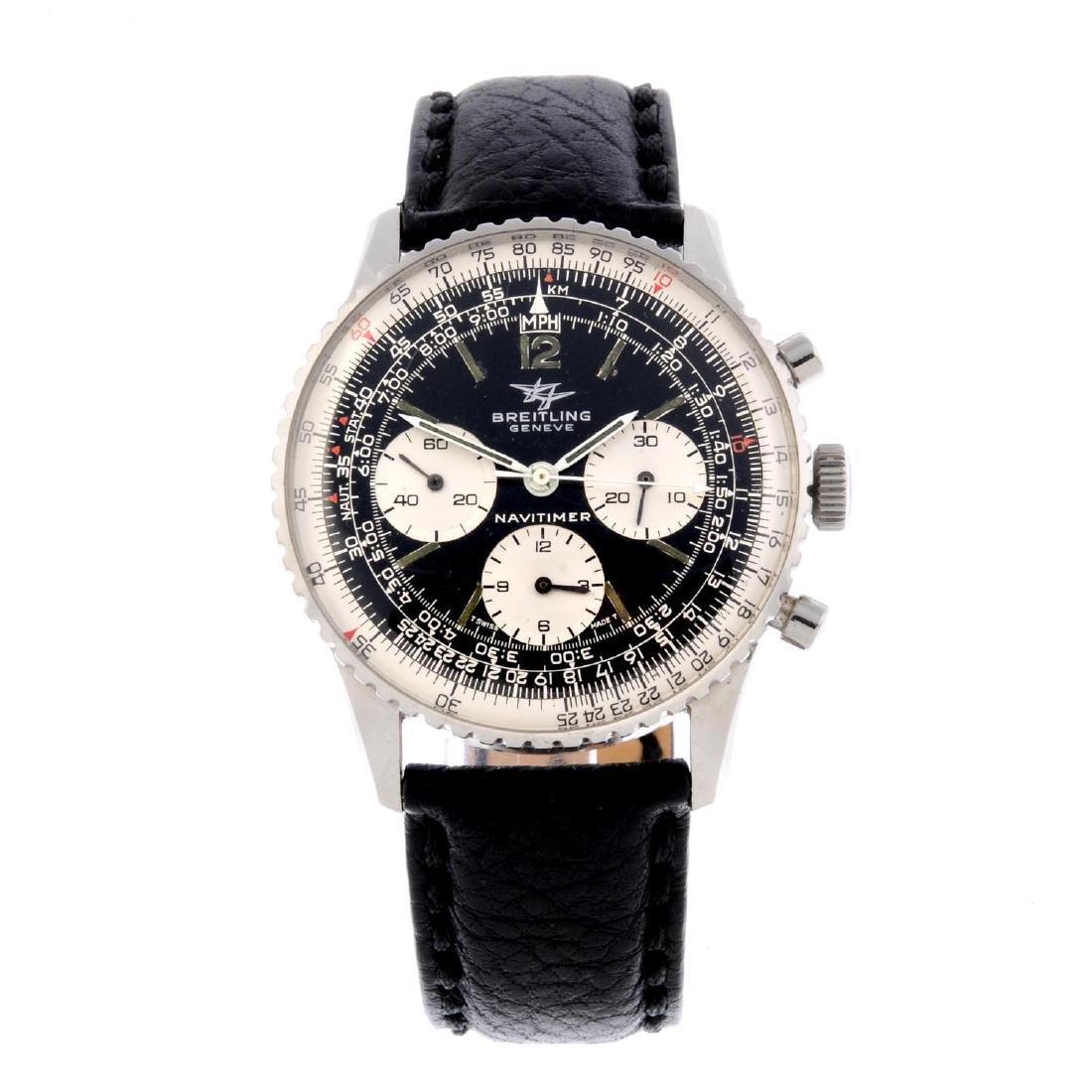 BREITLING - a gentleman's Navitimer chronograph wrist