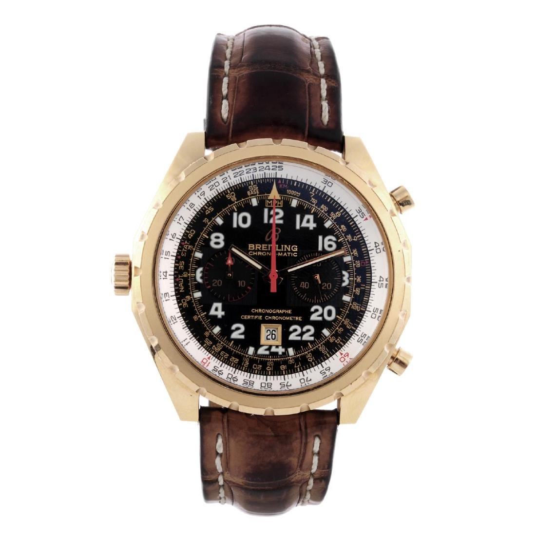 BREITLING - a limited edition gentleman's Chronomatic