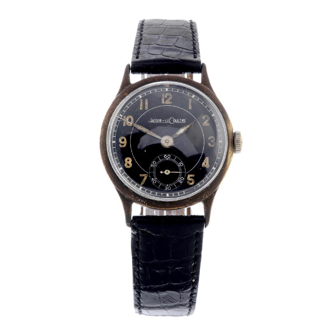 JAEGER-LECOULTRE - a gentleman's wrist watch. Base