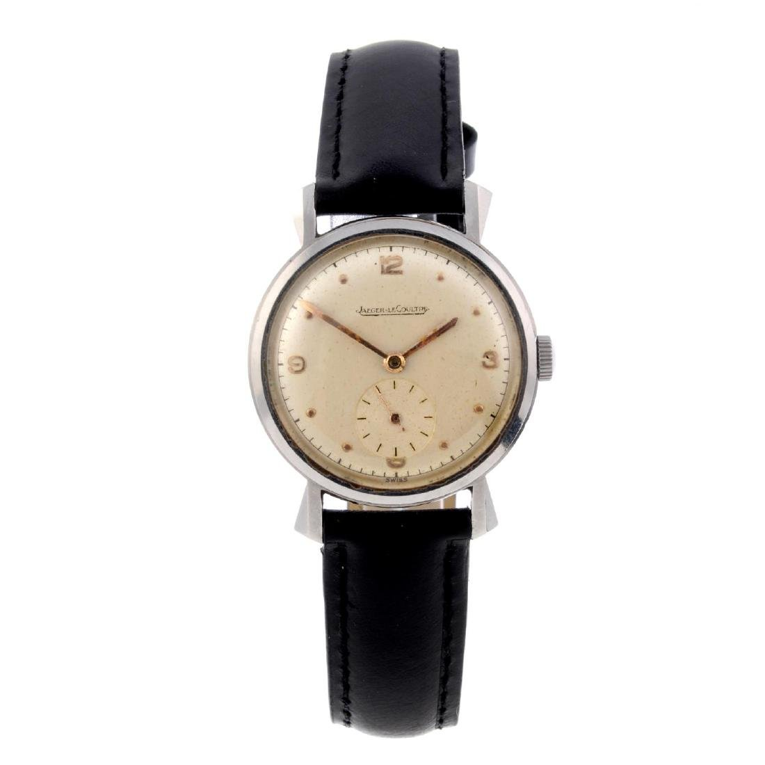 JAEGER-LECOULTRE - a gentleman's wrist watch. Stainless
