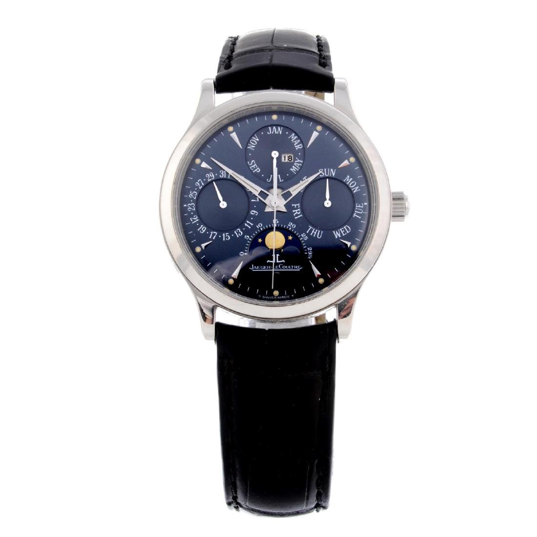 JAEGER-LECOULTRE - a limited edition gentleman's Master