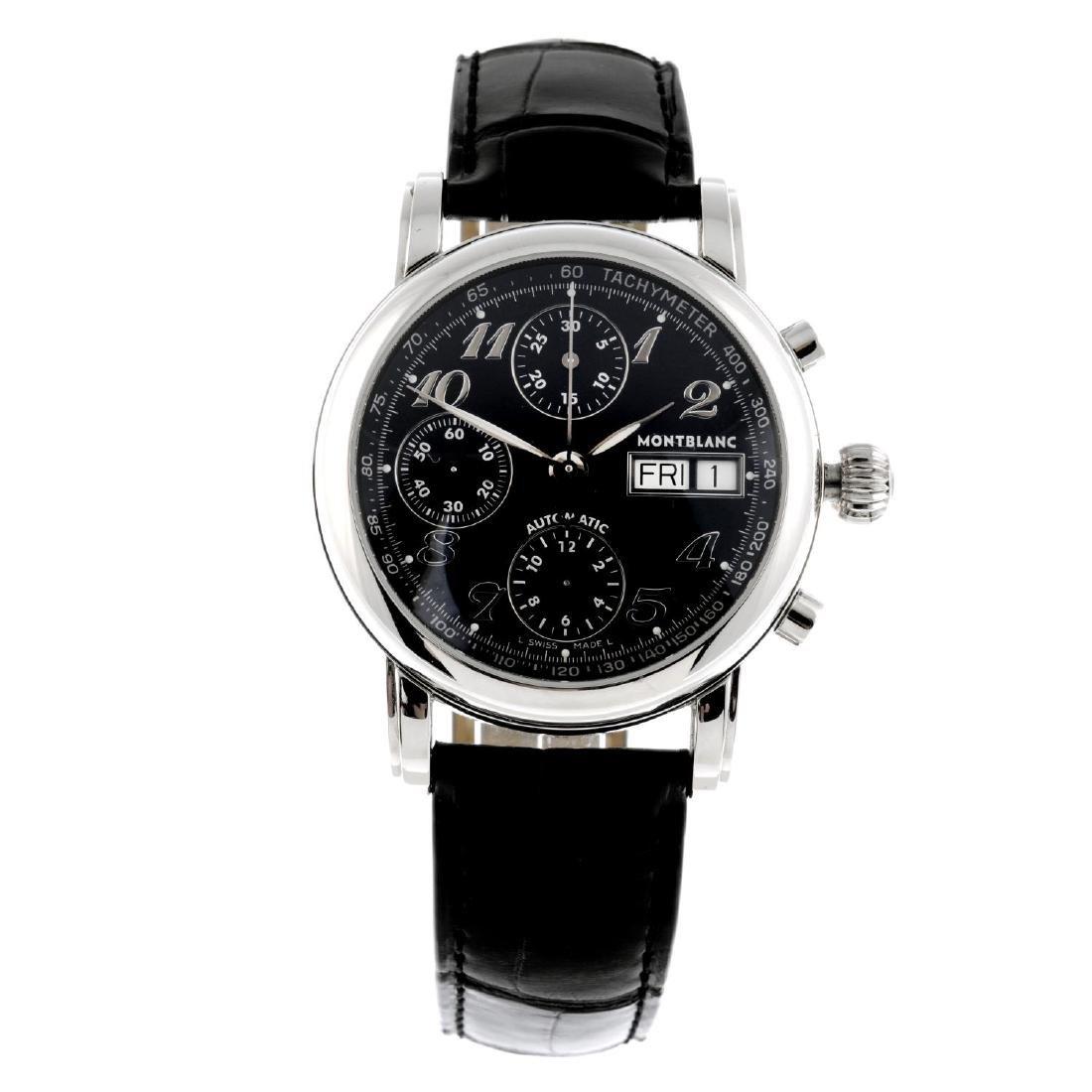 MONTBLANC - a gentleman's Meisterstuck chronograph