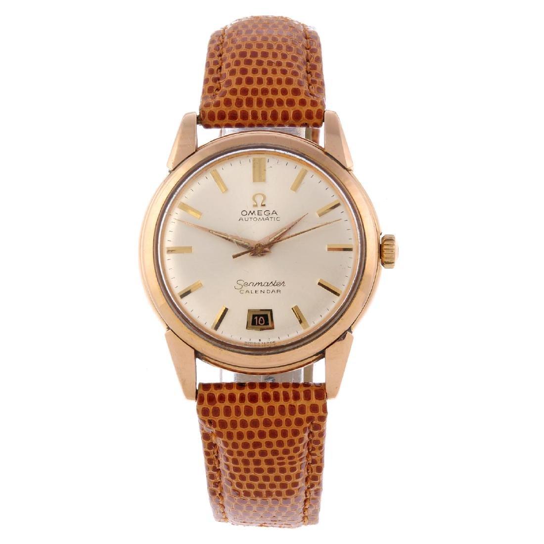 OMEGA - a gentleman's Seamaster Calendar wrist watch.