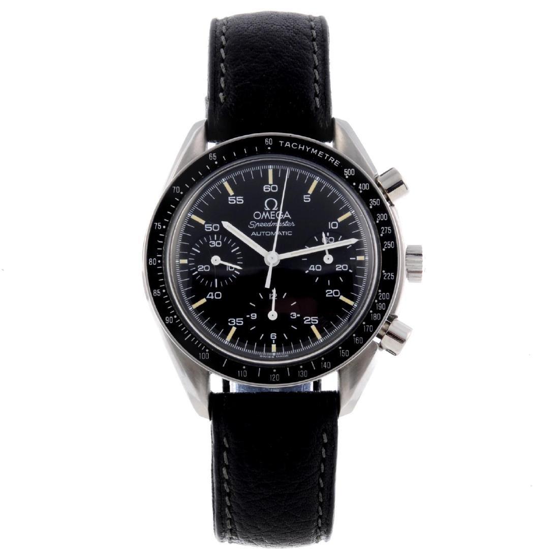 OMEGA - a gentleman's Speedmaster chronograph wrist