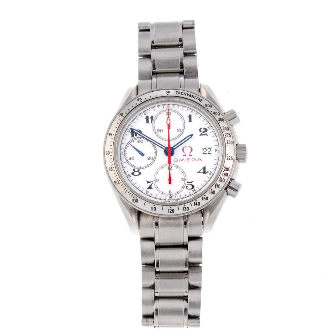 OMEGA - a gentleman's Speedmaster 'Olympic Collection'