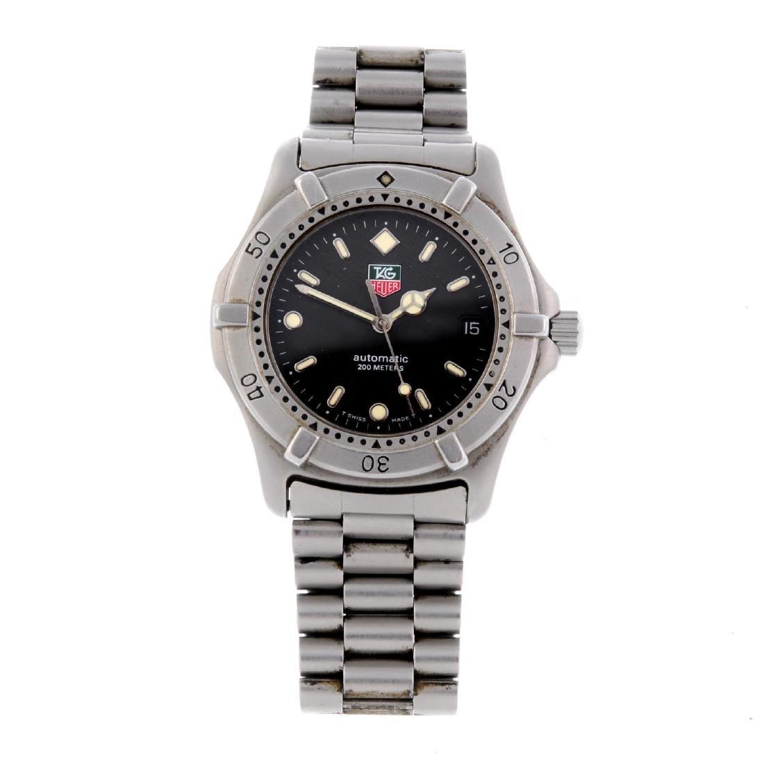 TAG HEUER - a gentleman's 2000 Series bracelet watch.