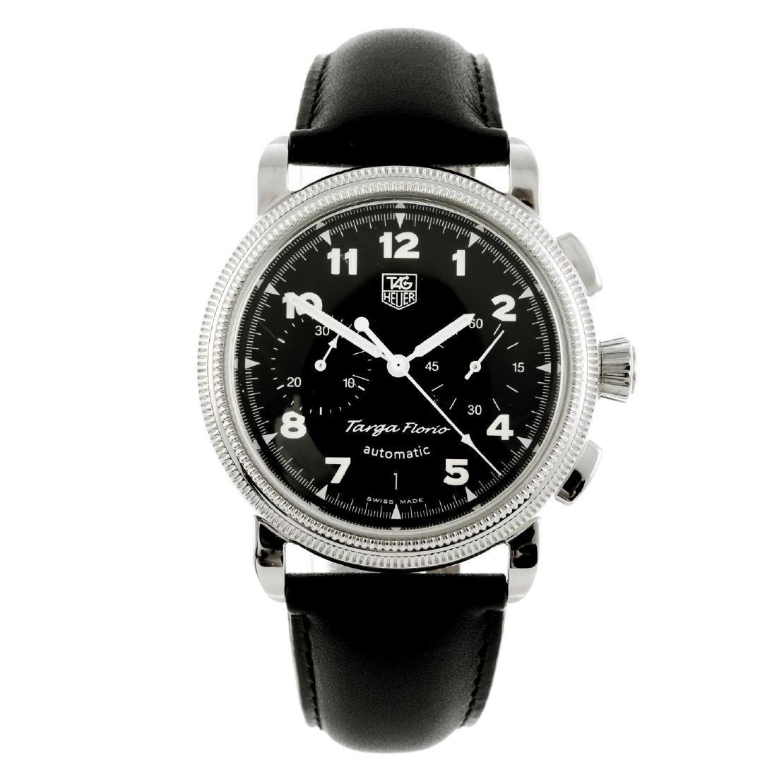 TAG HEUER - a gentleman's Targa Florio chronograph