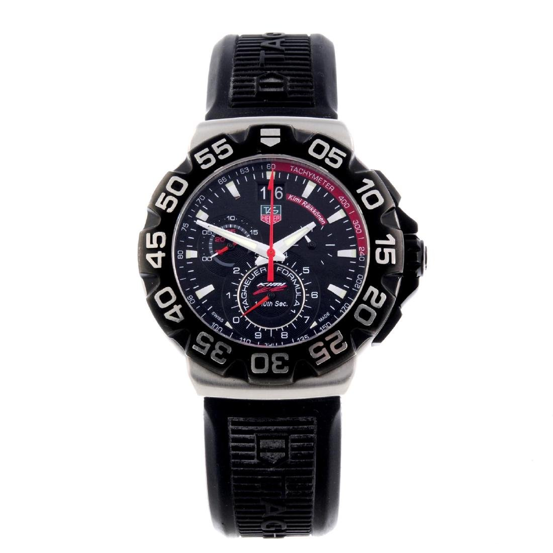 TAG HEUER - a limited edition gentleman's Formula 1
