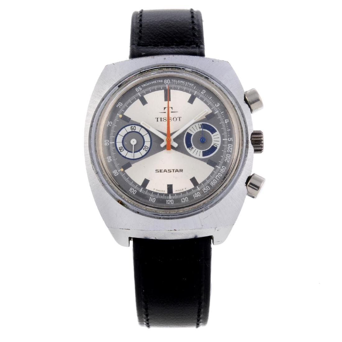 TISSOT - a gentleman's Seastar chronograph wrist watch.