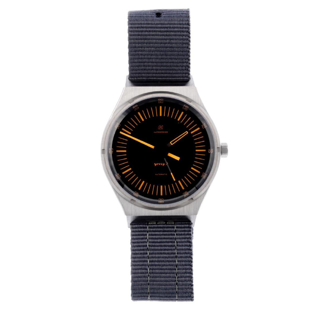 AUTODROMO - a gentleman's Group B wrist watch.