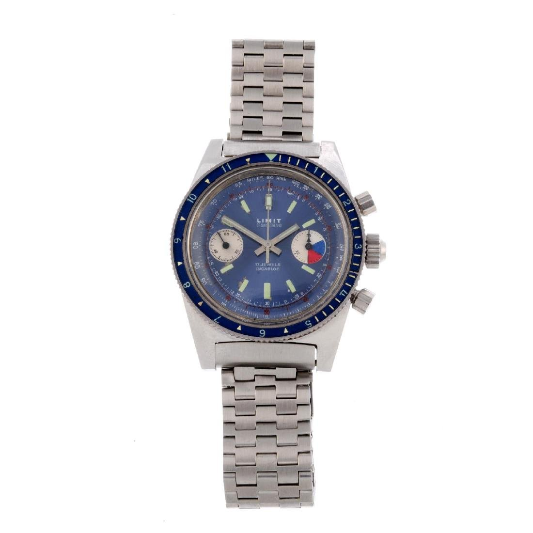 LIMIT - a gentleman's chronograph bracelet watch.