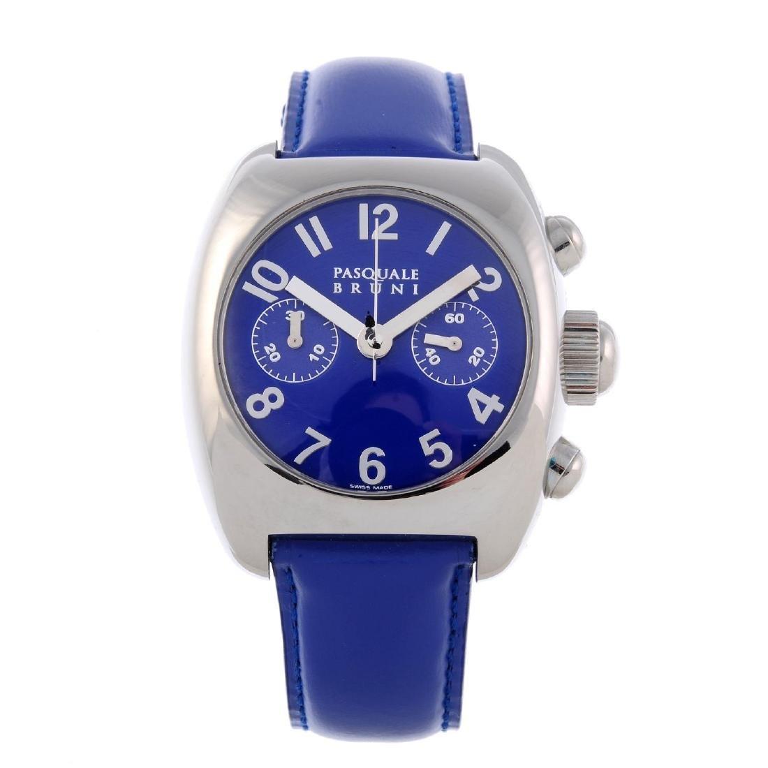 PASQUALE BRUNI - a gentleman's Uomo chronograph wrist