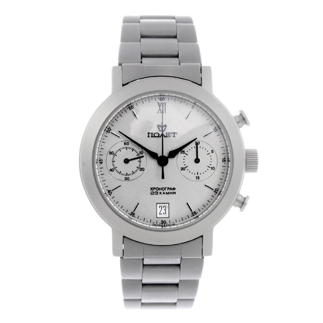 POLJOT - a gentleman's chronograph bracelet watch.