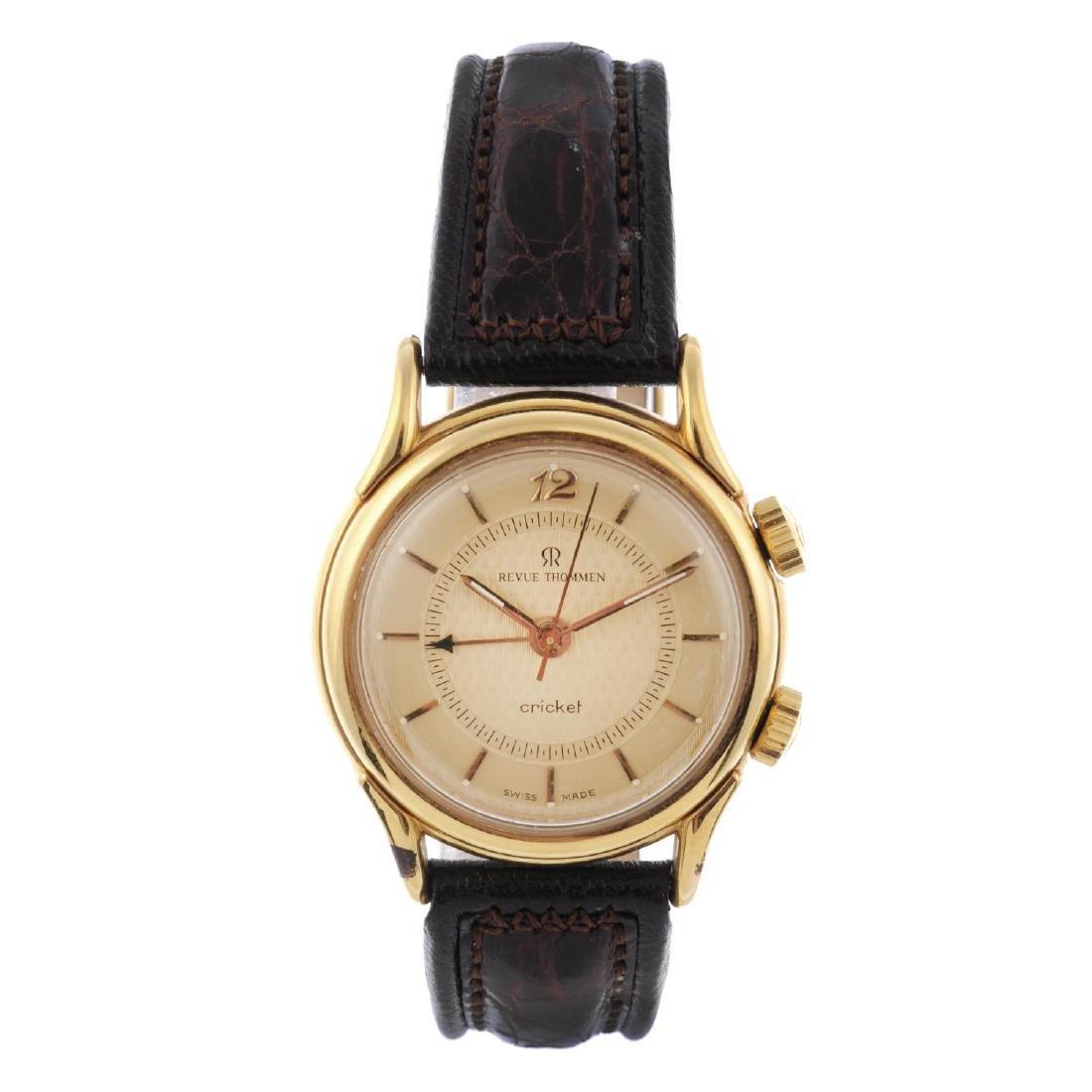 REVUE THOMMEN - a gentleman's Cricket alarm wrist