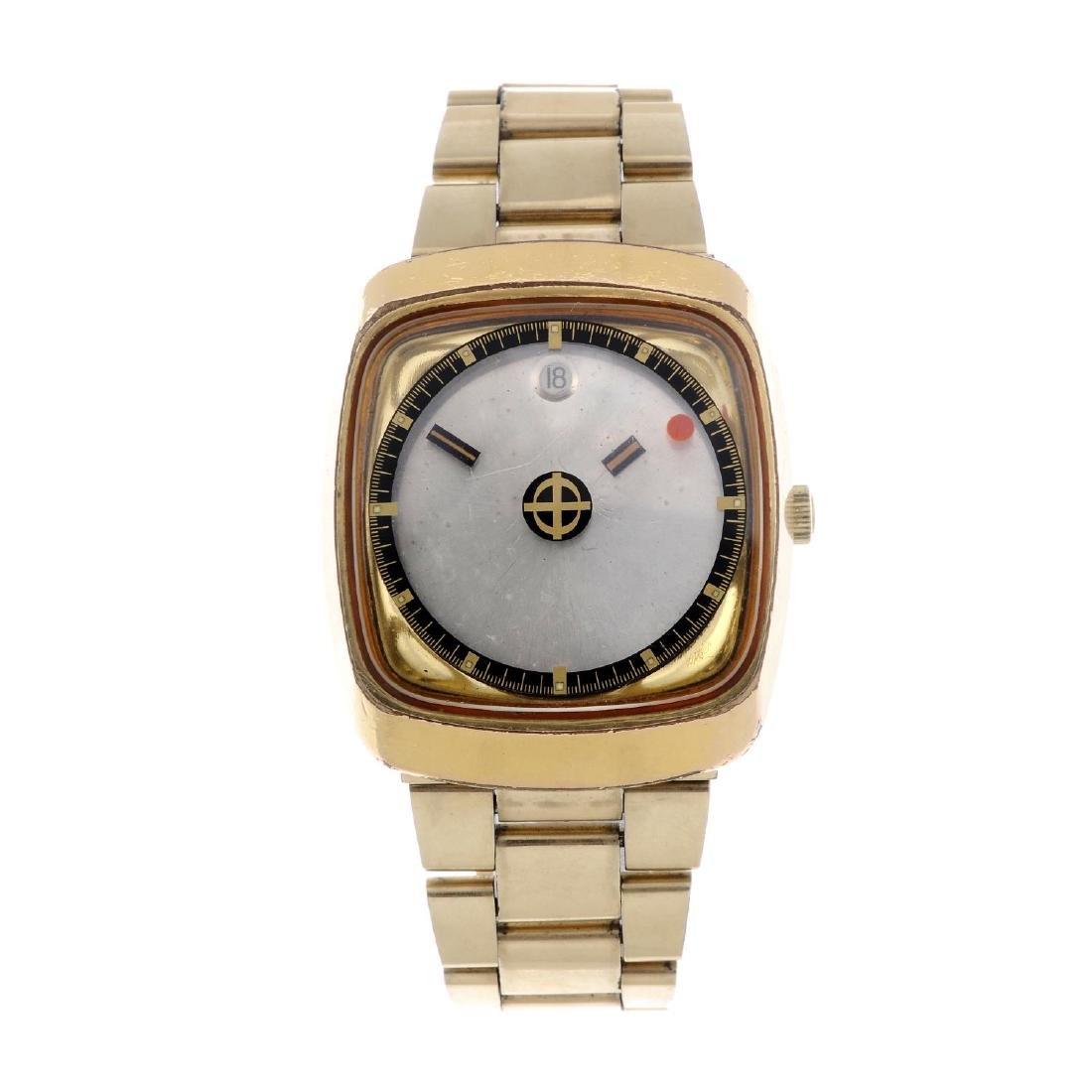 ZODIAC - a gentleman's Astrographic bracelet watch.