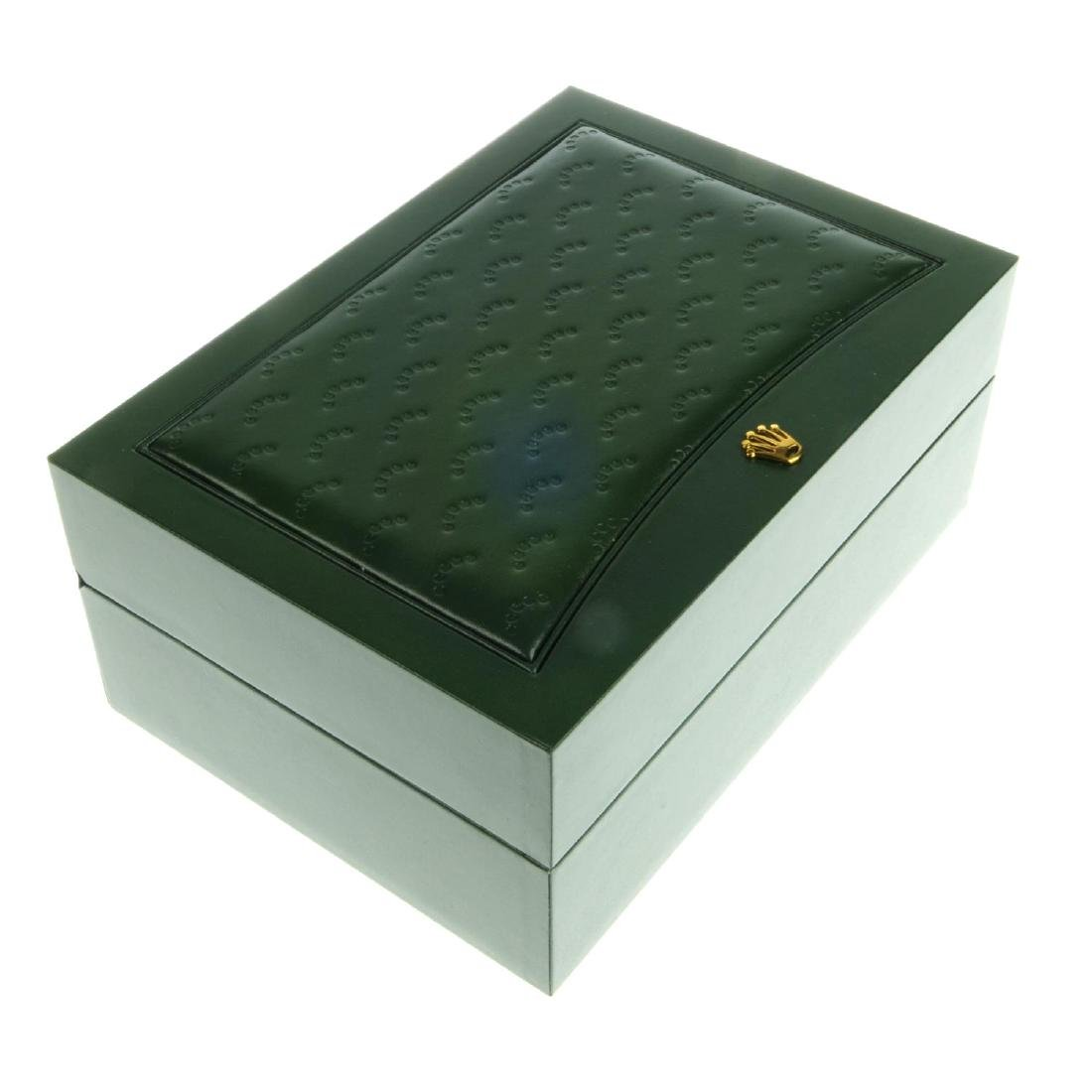 ROLEX - a complete Cellini watch box.