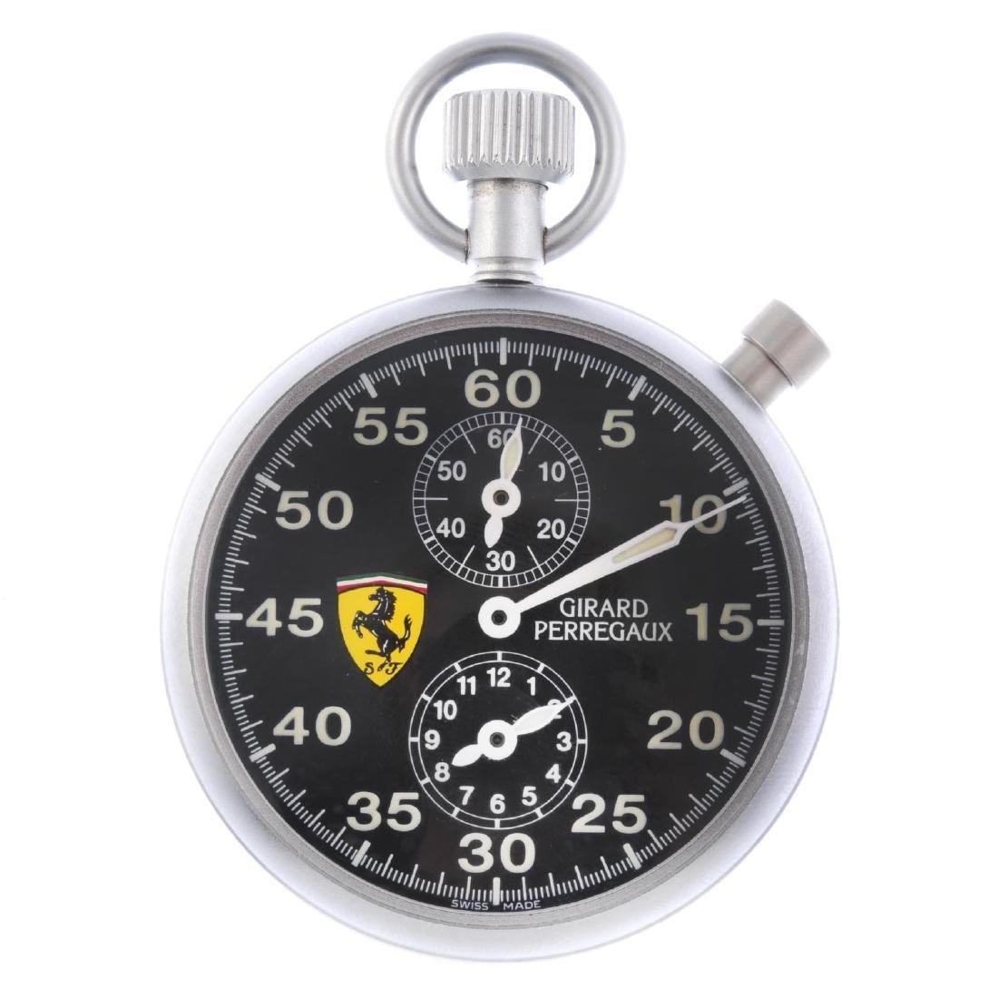 An open face Ferrari sport timer by Girard Perregaux.
