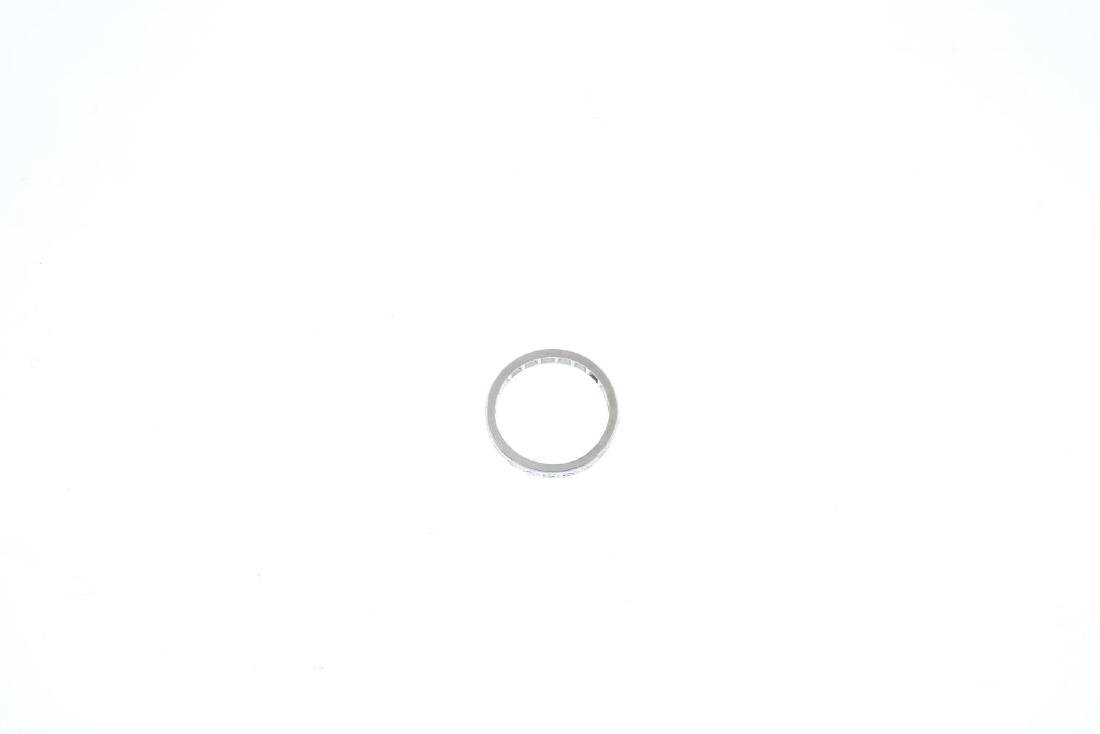 A diamond full eternity ring. Designed as a single-cut - 2