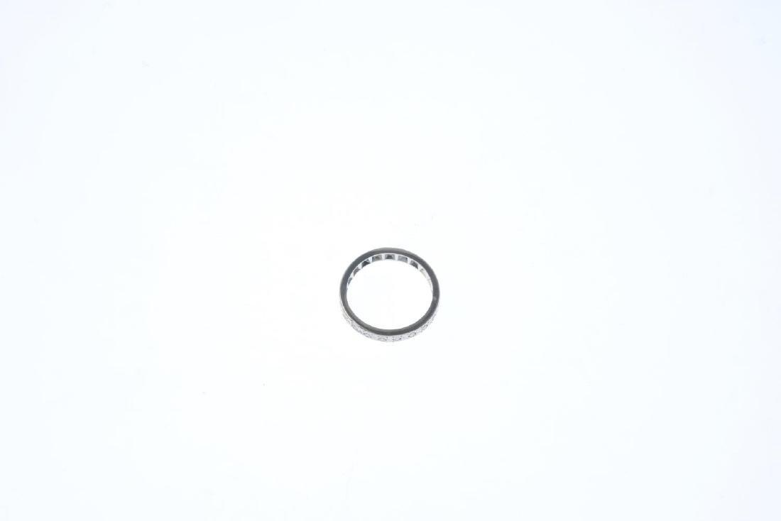 A diamond full eternity ring. Designed as a single-cut - 3
