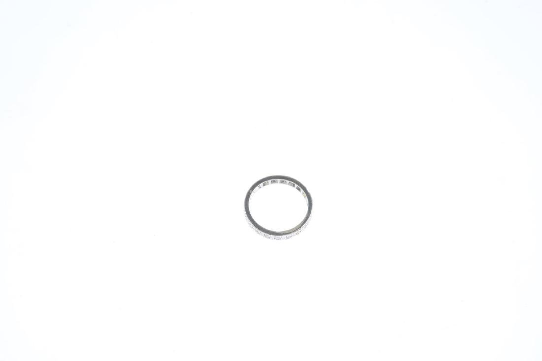 A diamond full eternity ring. Designed as a single-cut - 4