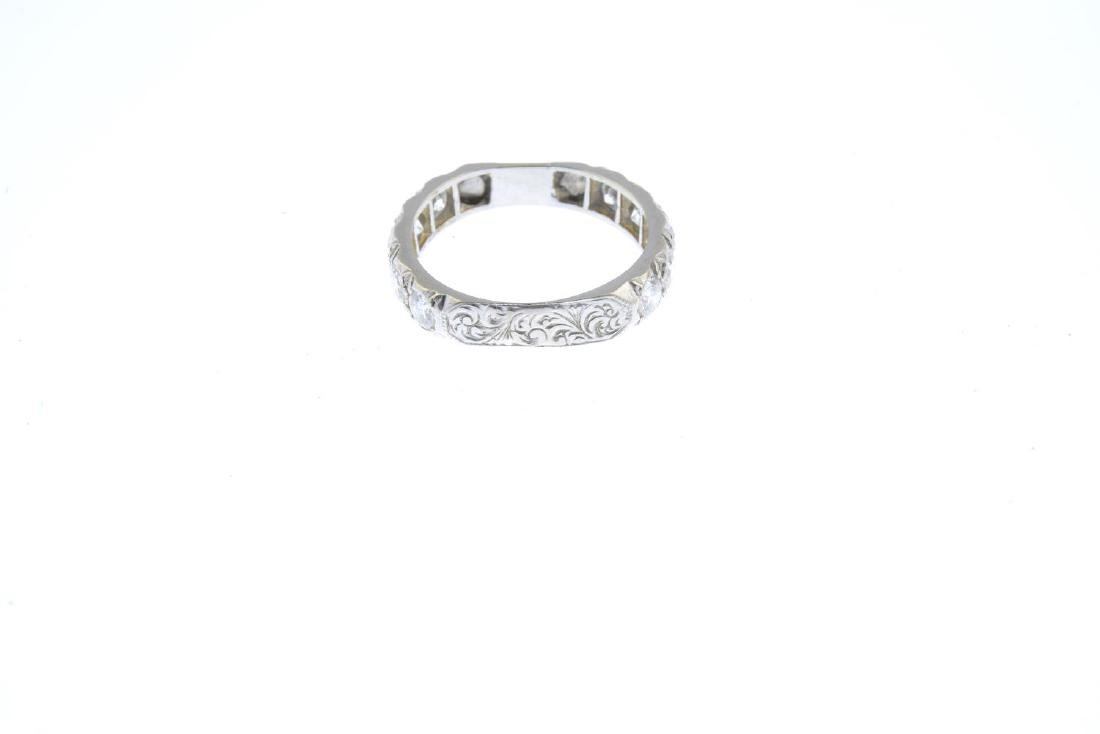 A diamond eternity ring. Designed as a series of - 2