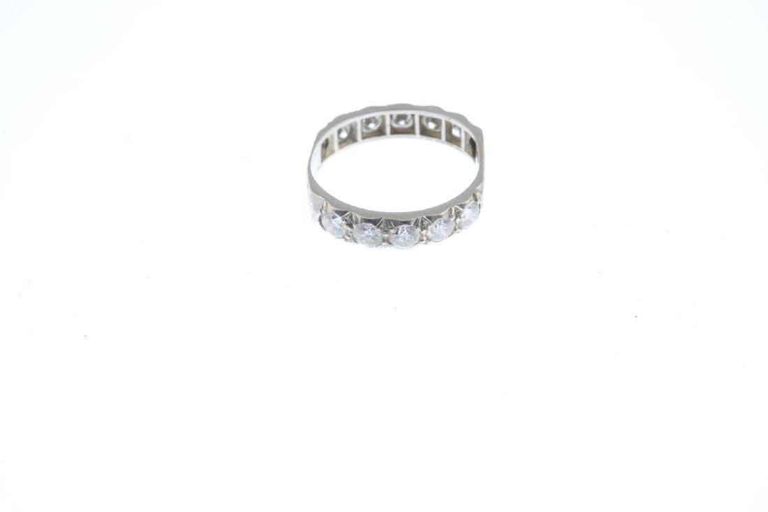 A diamond eternity ring. Designed as a series of - 3