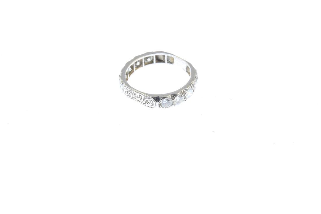 A diamond eternity ring. Designed as a series of - 4
