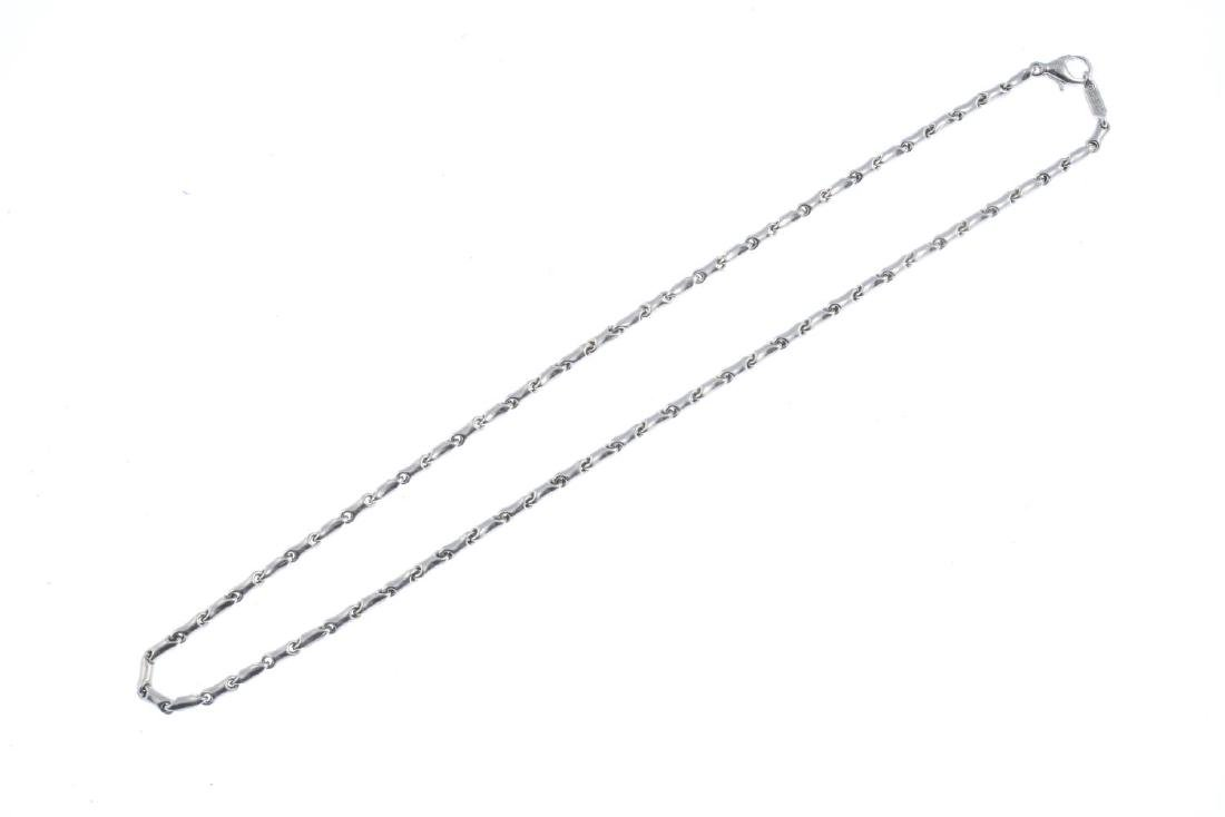 CHIMENTO - a necklace. Designed as a series of grooved - 2