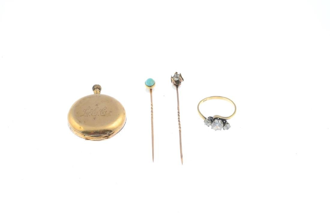 A selection of jewellery. To include a turquoise - 2