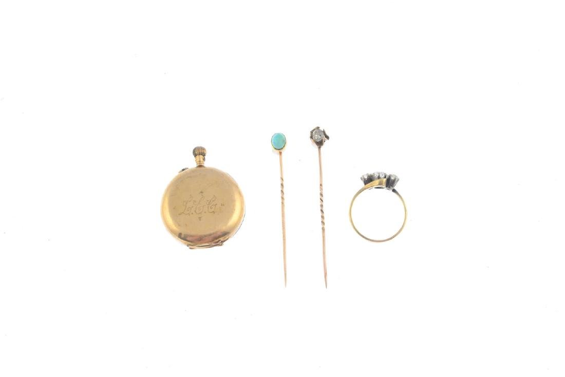A selection of jewellery. To include a turquoise - 3
