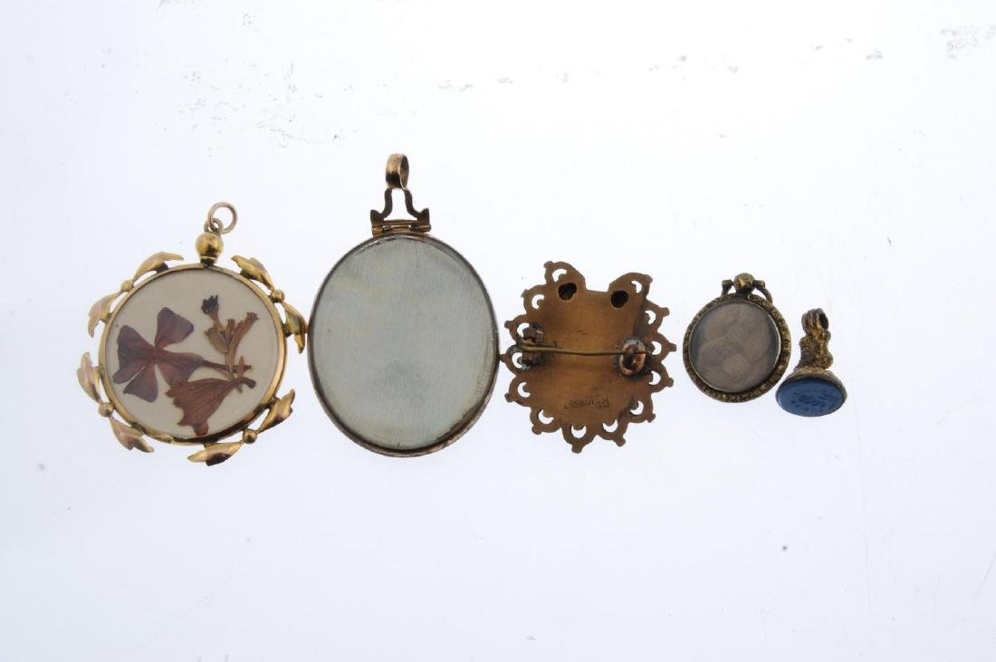 Five items of mainly late 19th to early 20th century - 3