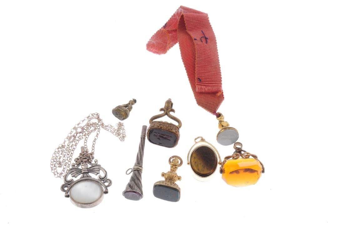 A selection of fobs and watch keys. To include a watch - 2
