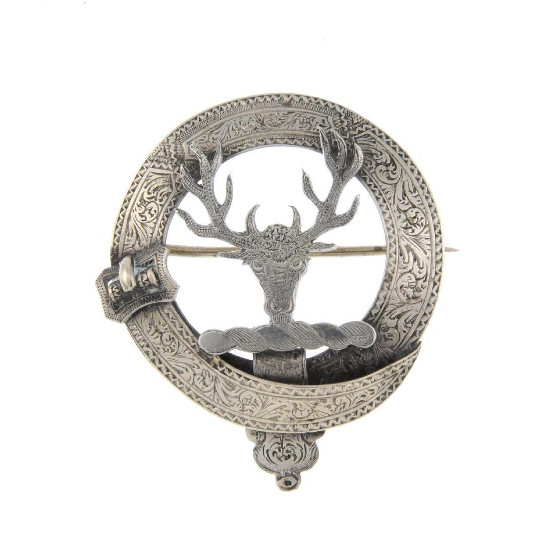 Twelve items of Scottish design jewellery. To include